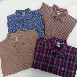 XL Men's Button Down Dress Shirts by Cinch Bundle